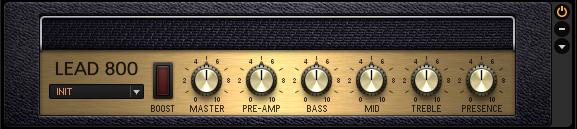 Guitar Rig 5 Amplifier LEAD 800