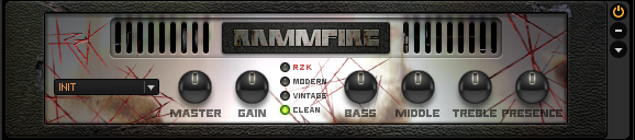 Guitar Rig 5 Amplifier Rammfire