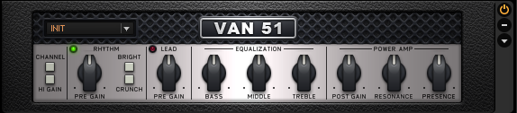 Guitar Rig 5 Amplifier VAN 51