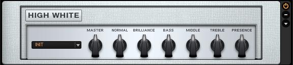 Guitar Rig 5 Amplifier High White