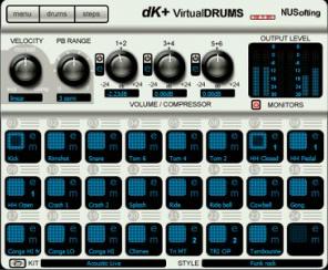 DK+ Virtual Drums