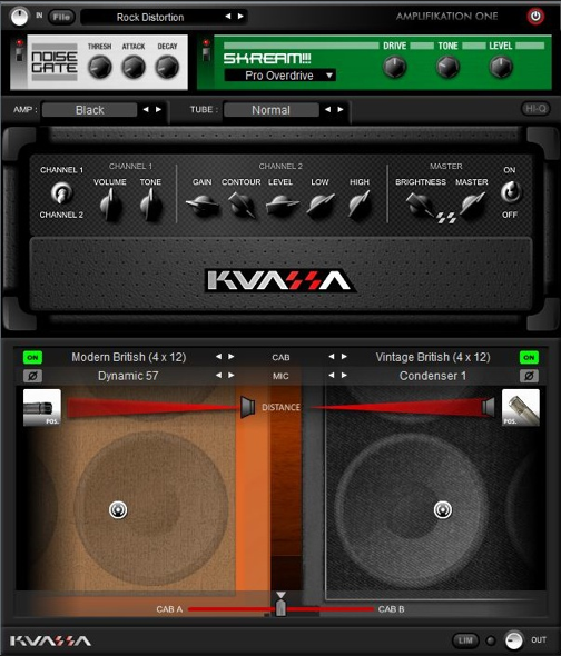 Kuassa Guitar Amps