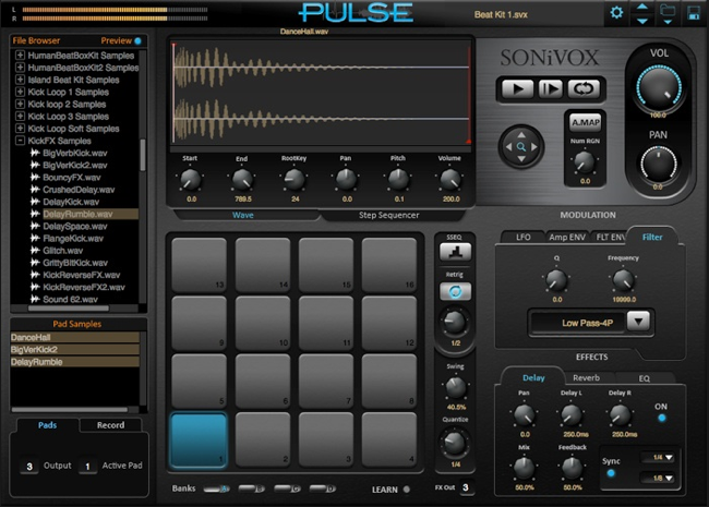 Sonifox Mi: Pulse