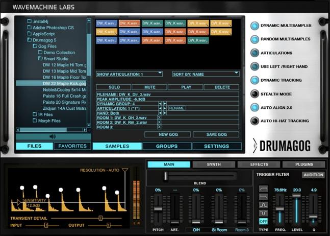 Wave Machine Labs: Drummagog